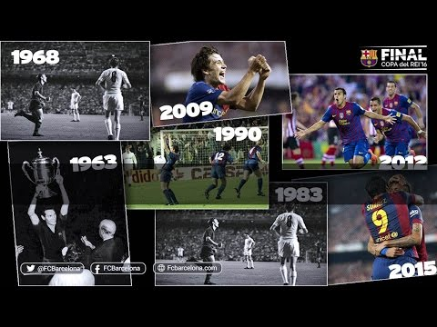 FC Barcelona's historic goals in Spanish Cup finals