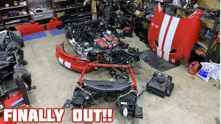 Rebuilding a Wrecked 2017 Dodge Viper GT Part 4