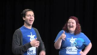 Die Laughing Plays Hilarious Improv Games