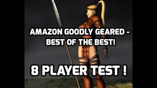 Diablo 2: How good is the javazon on 8 players? Test with GG gear.