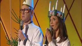 robert gustavsson och lena philipsson sjunger julsånger ROLIGT!