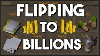 Flipping to Billions In Oldschool Runescape 50M to 1B Episode 5 OSRS