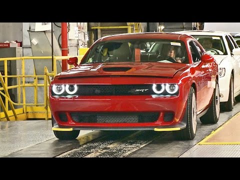 CAR FACTORY: 2017 Dodge Charger and Challenger SRT HELLCAT ...