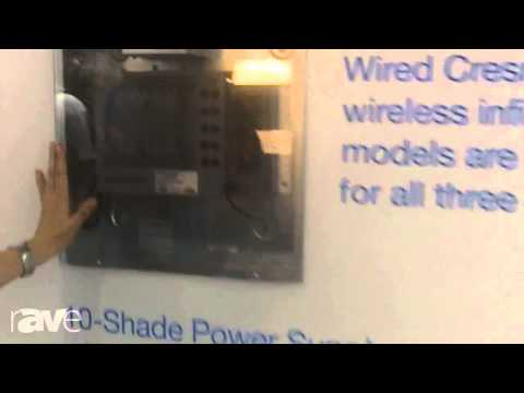 CEDIA 2013: Crestron Introduces its QMT Motor Shading Solutions