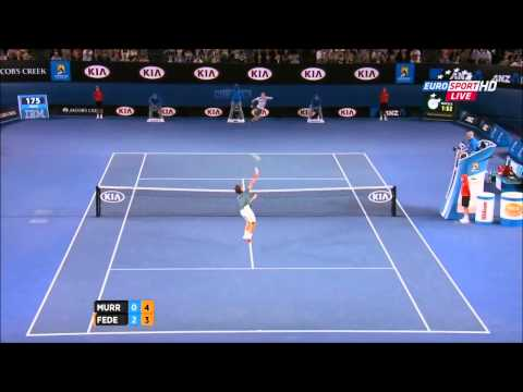 Roger Federer Vs Andy Murray Australian Open 2014 HIGHLIGHTS QF Full HD