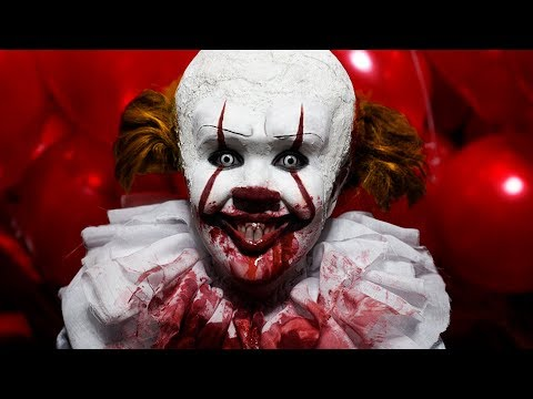 🎈 Halloween Make Up Tutorial IT Pennywise 2017 by Anastasiya Shpagina