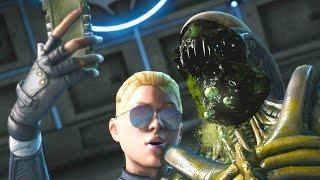 Mortal Kombat XL - All Fatalities On Alien