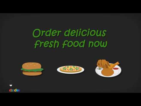 2D Animation Video for Free Food Delivery Service