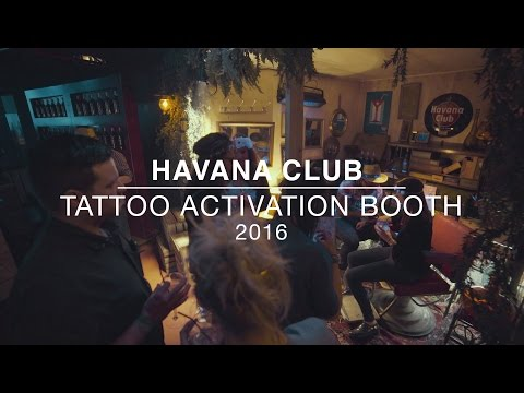 Havana Club - Tattoo Activation booth