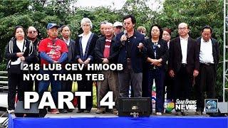 SUAB HMONG NEWS: Part 4 - NHGDC 218 lub cev Hmoob pob txha nyob teb chaws Thaib