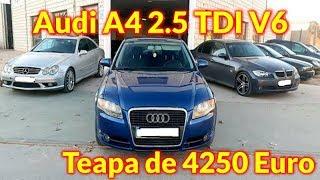 Țeapă cu un Audi A4 masina pentru dezmembrat vanduta cu 4250€