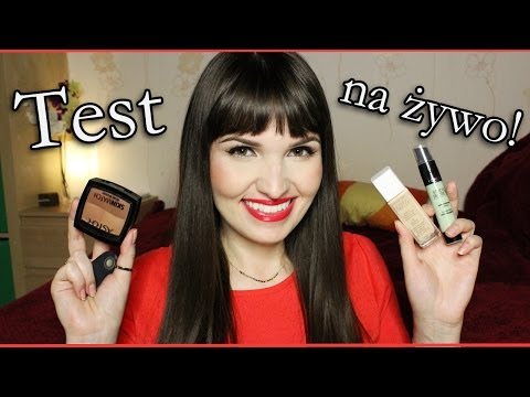 *TEST NA ŻYWO - Revlon Nearly Naked i INNE*