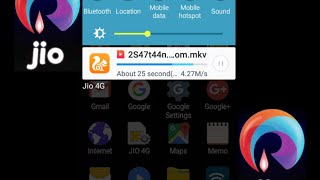 Reliance Jio 4G Real Download Speed Testing of 700 Mb File Size in Mumbai India See It