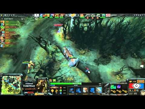 LGD.INT vs Invictus Gaming Game 2 - G League DOTA2 Finals - TobiWan