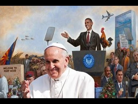 Demonic Start To 2016: The Pope & Obama Make Their Moves - The World Has Chosen Satan!