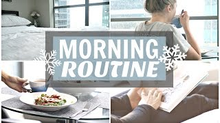 Wintery Sunday Morning Routine