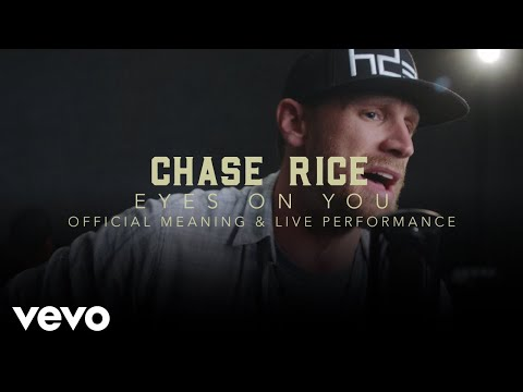 """Chase Rice - """"Eyes On You"""" Official Performance & Meaning   Vevo"""