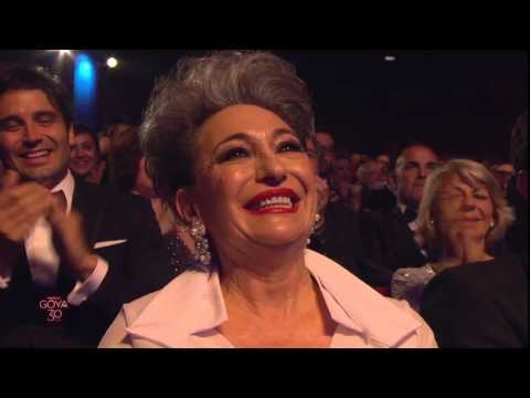 Luisa Gavasa gana el Goya a Mejor Actriz de Reparto en 2016