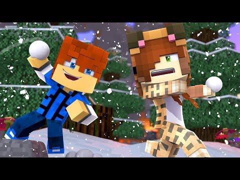 Minecraft Daycare -  TINA'S BATTLE !? (Minecraft Roleplay)