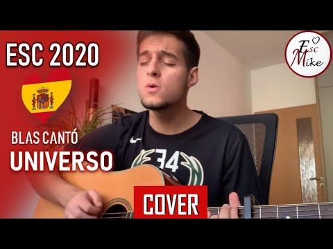 Blas Cantó - Universo (Cover) - Eurovision 2020 Spain