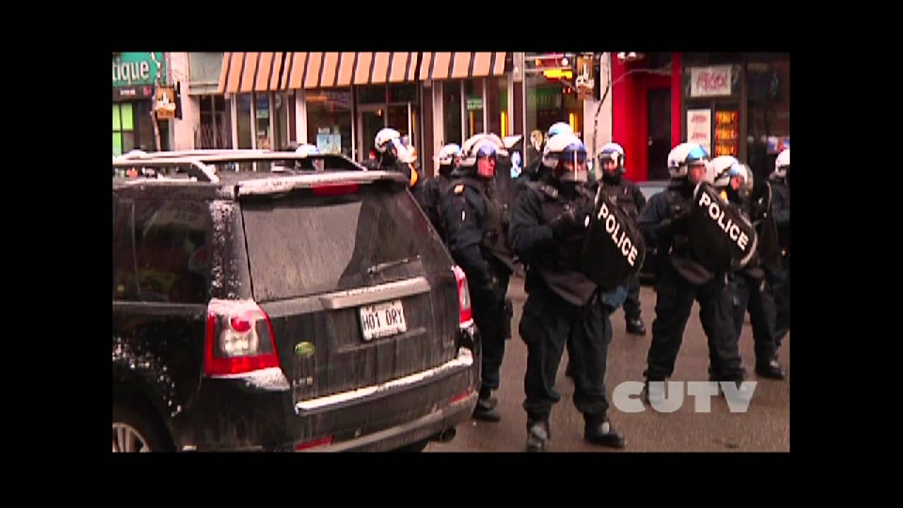 CUTV arrested at Anti police Brutality March 2013