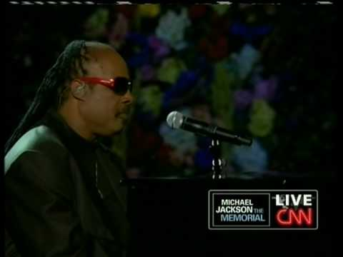 Stevie Wonder - Memorial Tribute of Michael Jackson (live) 07/07/09 (HQ)