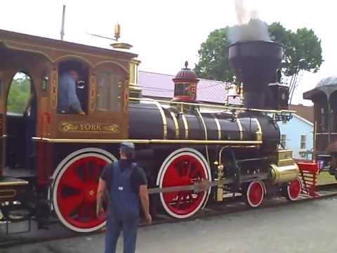 York Steam Engine Locomotive No. 17