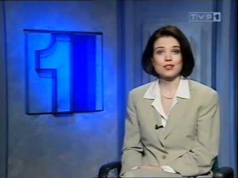 12.03.1995 - ZAPOWIEDŹ PREZENTERKI + ZWIASTUNY PROGRAMÓW + FRAGMENT WIADOMOŚCI