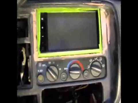 2000 Tahoe Z71 Double Din install