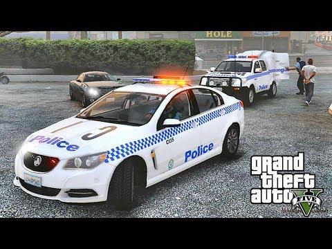 GTA 5 MODS LSPDFR 945  - AUSSIE PATROL!!! (GTA 5 REAL LIFE PC MOD)