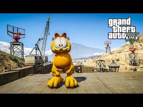 Download Lagu เหมียวโหดกระโดดตบ (Garfield MOD GTA5) MP3 Free