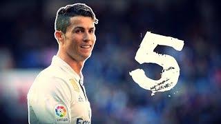 5 Buts Magnifiques de Cristiano Ronaldo !!!