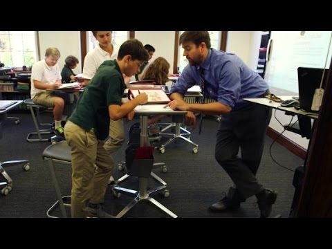 School adds standing desks to classrooms