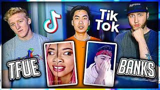 Reacting To Tik Tok With Banks & Tfue