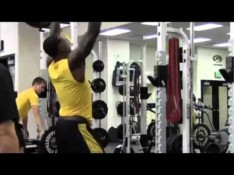 Get a tour of Mizzou Arena's weight room from Director of Basketball Athletic Performance Todor Pandov.