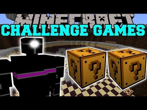 Minecraft: JEFFREY CHALLENGE GAMES - Lucky Block Mod - Modded Mini-Game