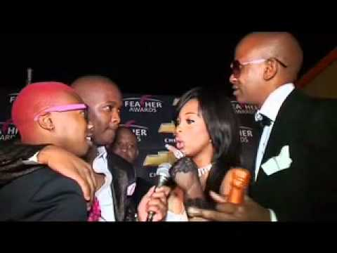 Exclusive Khanyi & Malcolm Interview At The Feather Awards video