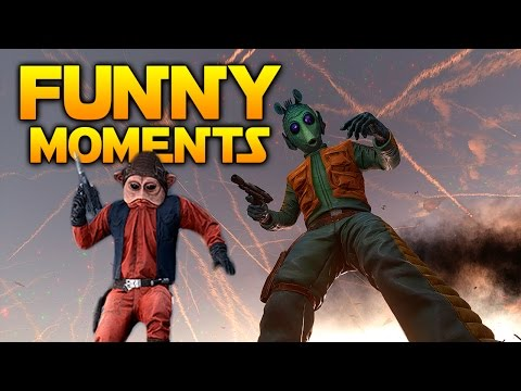 Star Wars Battlefront - Funny & Random Moments #1