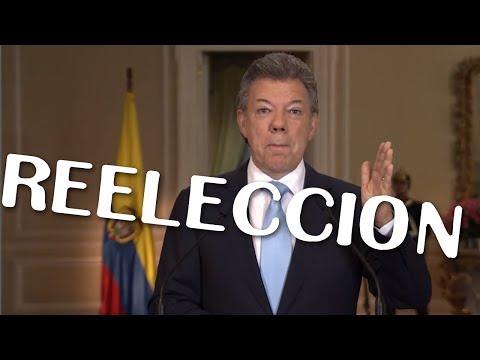 SANTOS ANUNCIA ASPIRAR A LA REELECCIÓN (Parodia)