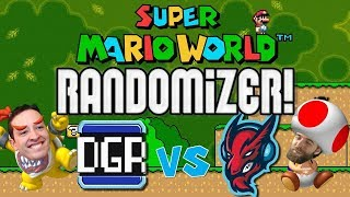 Ryu vs DGR: The Revenge | Super Mario World Randomizer Race!