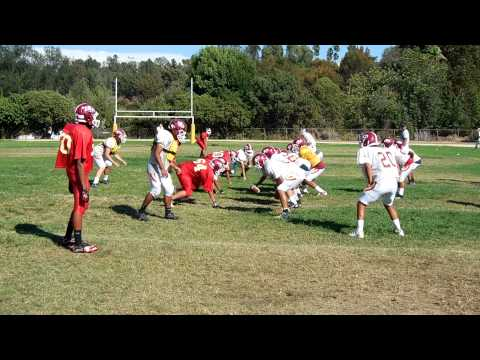 La Serna HIgh School Football Practice September 2013