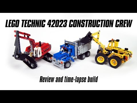 Lego Technic 42023 Construction Crew Review