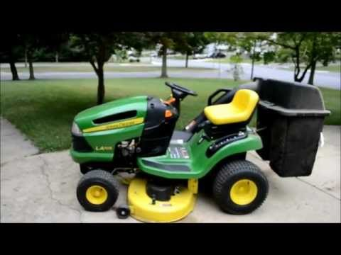 John Deere Lawn Tractor Tune Up. Step 3 of 5: Fuel Filter Change