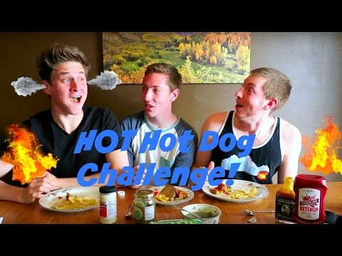 HOT Hot Dogs Challenge!