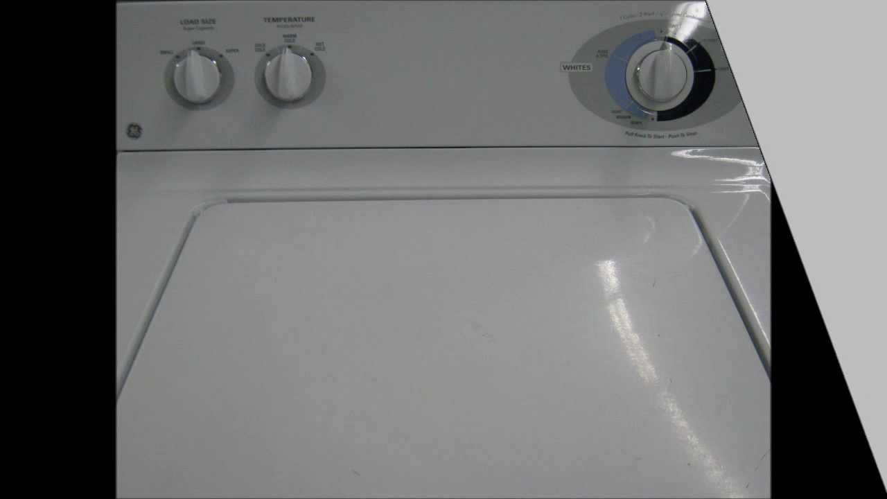 ge washing machine for sale