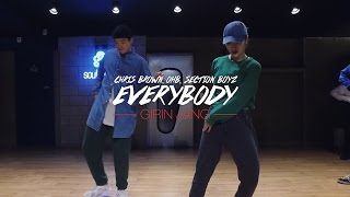 "GIRIN JANG Class ""Everybody by Chris Brown, OHB, Section Boyz"""