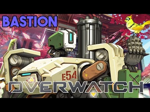 Overwatch Bastion Gameplay Deutsch German - KeysJore wird gekickt!
