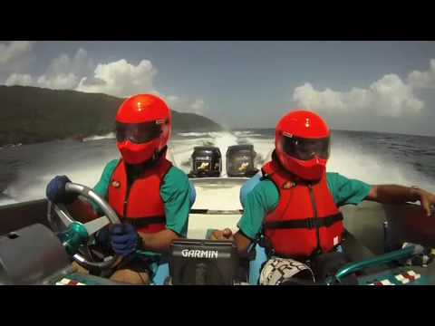 Open Ocean Powerboat Race in Trinidad and Tobago