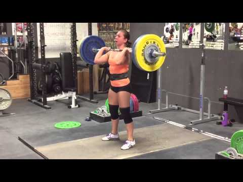 Alyssa Sulay Clean Double 100 kg (220 lbs) at 63 kg Bodyweight