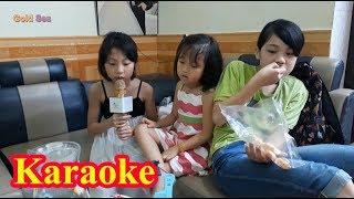 Bé Hát Karaoke - Blue sea thể hiện Gia Đình Nhỏ Hạnh Phúc To chị hiện đọc thơ